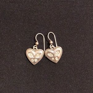 Brighton butterfly earrings. Authentic